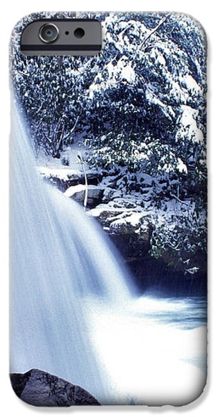 McCoy Falls in January iPhone Case by Thomas R Fletcher