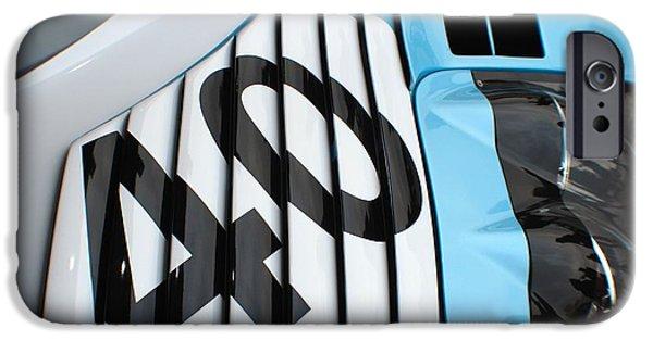 Michelin iPhone Cases - McLaren F1 GTR iPhone Case by Robert Phelan