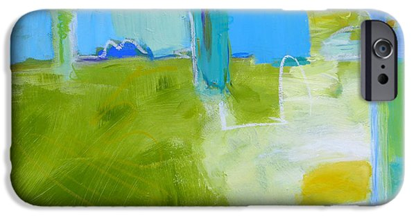 Nature Abstracts iPhone Cases - Meander iPhone Case by Valerie Erichsen Thomson