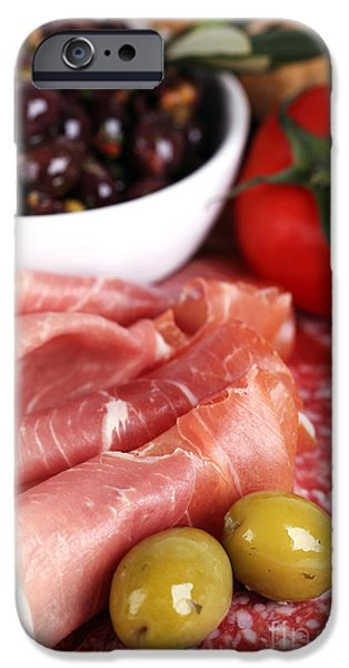 Meat platter  iPhone Case by Jane Rix