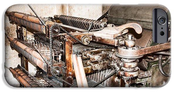 Mechanism iPhone Cases - Mechanism iPhone Case by Gabriela Insuratelu