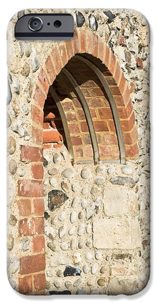 Abbey iPhone Cases - Medieval arch iPhone Case by Tom Gowanlock