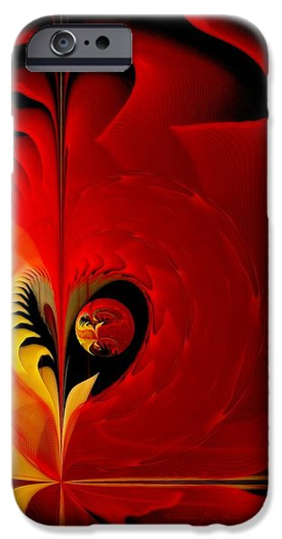 Meditations of Our Heart iPhone Case by Gayle Odsather