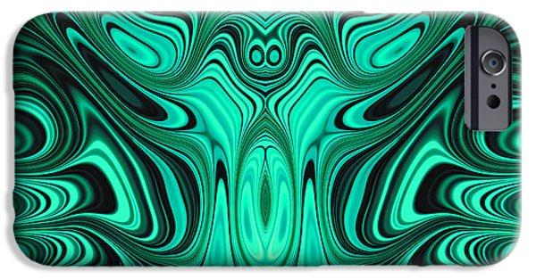 Turbulent iPhone Cases - Mekon iPhone Case by John Edwards