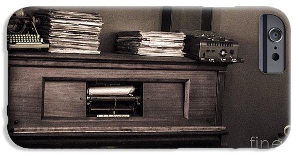 Disc iPhone Cases - Memorabilia iPhone Case by Runaldo Ferre