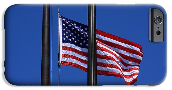 Old Glory iPhone Cases - Memorial Day iPhone Case by Lyle Hatch