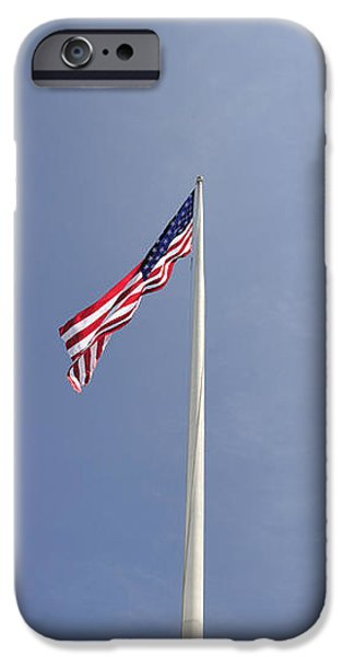 Memorial Flag iPhone Case by Andy Smy