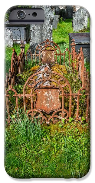 Cemetery iPhone Cases - Memories iPhone Case by Adrian Evans