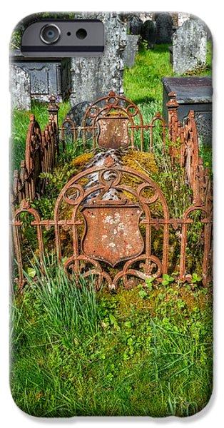 Tombstones iPhone Cases - Memories iPhone Case by Adrian Evans