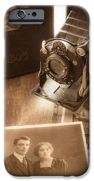 Technology iPhone Cases - Memories iPhone Case by Wim Lanclus