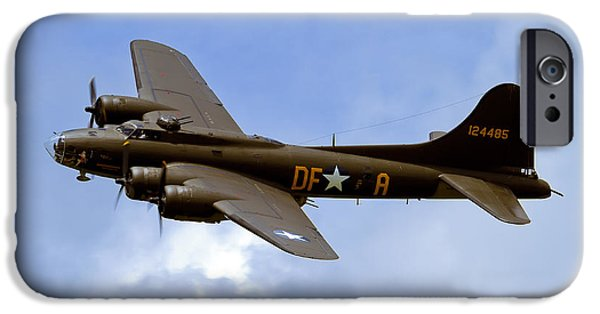 Recently Sold -  - Flight iPhone Cases - Memphis Belle iPhone Case by Bill Lindsay