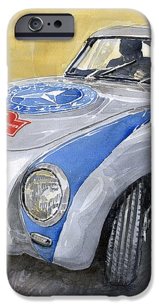 Mercedes Benz 300 SL 1952 Carrera Panamericana Mexico  iPhone Case by Yuriy  Shevchuk