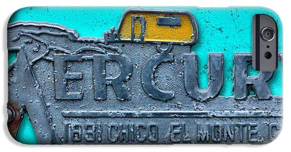 Graphic Design iPhone Cases - Mercury iPhone Case by Ron Regalado
