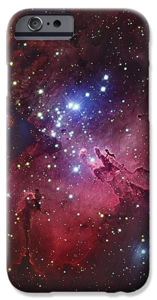 Messier 16, The Eagle Nebula In Serpens iPhone Case by Robert Gendler