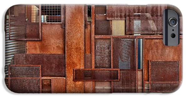 Rust iPhone Cases - Metal - Abstract - Rust iPhone Case by Nikolyn McDonald
