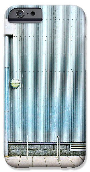 Drain iPhone Cases - Metal wall iPhone Case by Tom Gowanlock