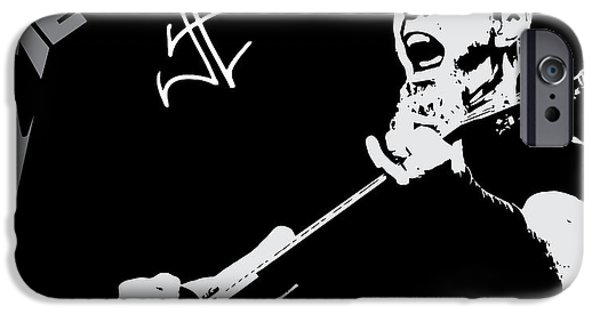 Famous Artist iPhone Cases - Metallica iPhone Case by Caio Caldas