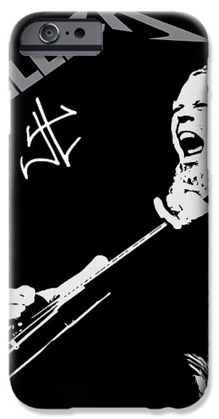 Metallica iPhone Case by Caio Caldas