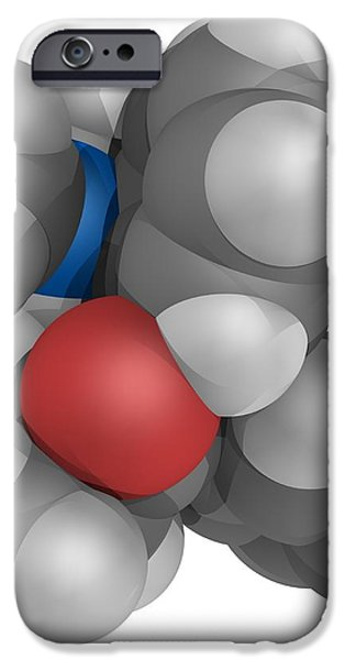 Methadone Molecule iPhone Case by Laguna Design