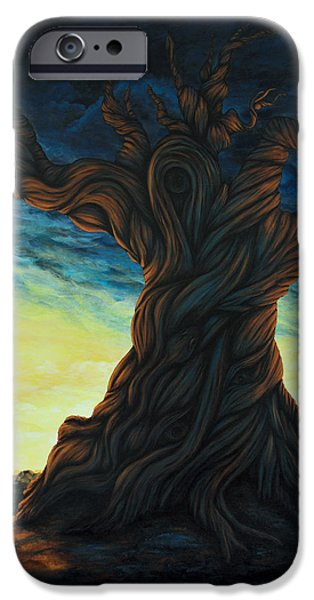 Tree Art Print iPhone Cases - Methuselah iPhone Case by Laura Teti