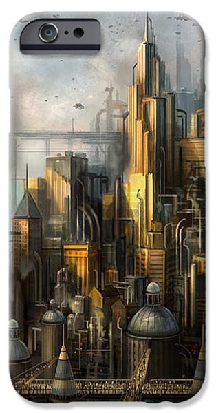 Metropolis iPhone Case by Philip Straub