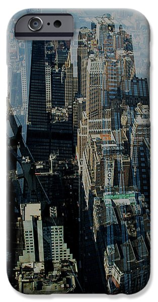 Structural iPhone Cases - Metropolis VII iPhone Case by David Studwell