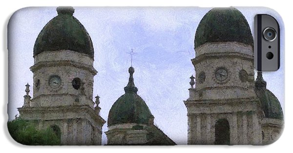 White House iPhone Cases - Metropolitan Cathedral iPhone Case by Jeff Kolker