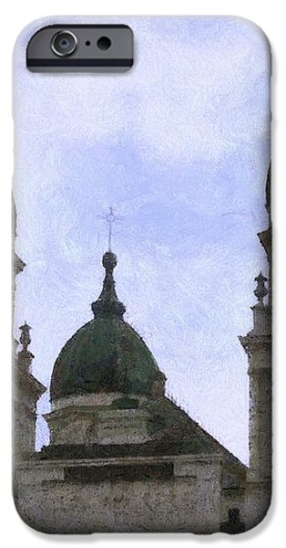 Metropolitan Cathedral iPhone Case by Jeff Kolker