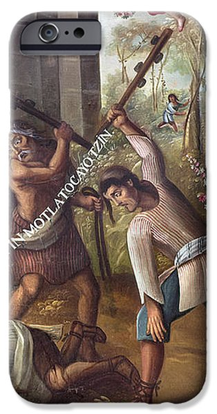 MEXICO: CHRISTIAN MARTYRS iPhone Case by Granger