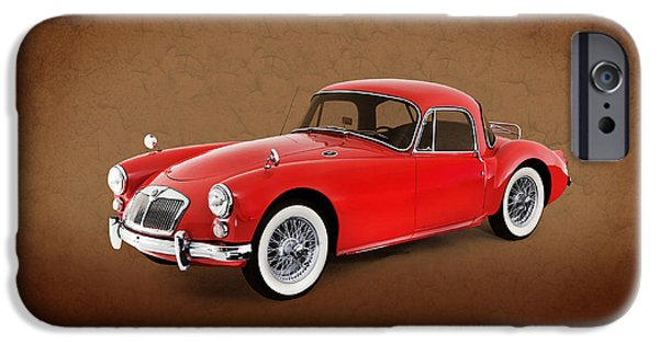 Cars iPhone Cases - Mga 1959 iPhone Case by Mark Rogan