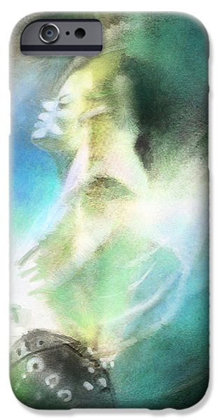 Michael Jackson 15 iPhone Case by Miki De Goodaboom