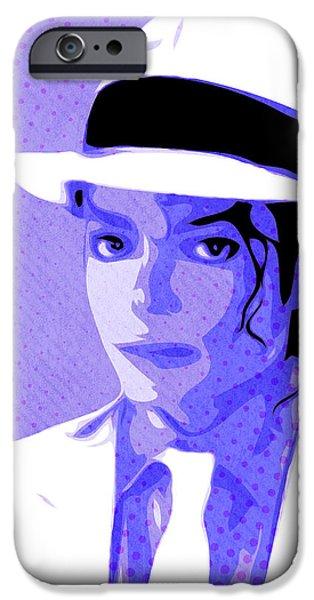 Smooth Criminal iPhone Cases - Michael Jackson - Smooth Criminal - Pop Art iPhone Case by William Cuccio aka WCSmack