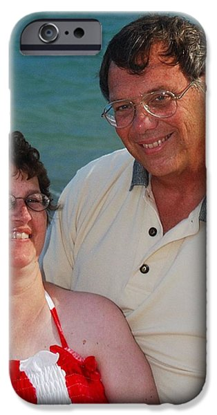 Michael  Peychich and his sweetheart iPhone Case by Michael Peychich