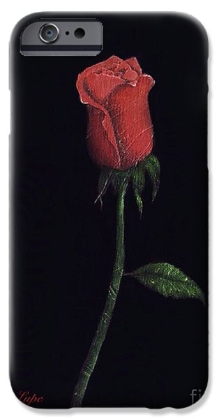 Board iPhone Cases - The Perfect Rose 2 iPhone Case by Becky Lupe