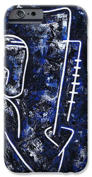 Midnight Blue iPhone Cases - Midnight Jazz with Ben Webster iPhone Case by Kamil Swiatek