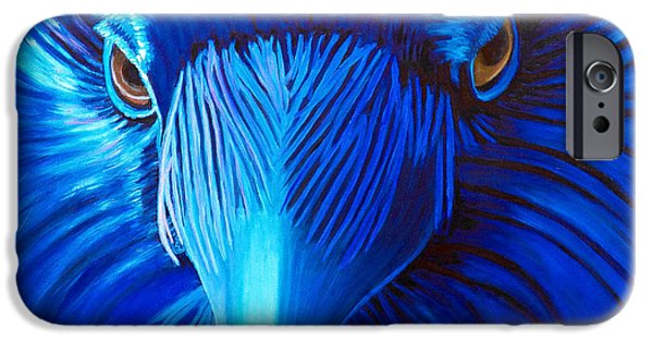 Raven iPhone Cases - Midnight Magic iPhone Case by Brian  Commerford