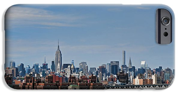 Empire State iPhone Cases - Midtown Redefined iPhone Case by S Paul Sahm