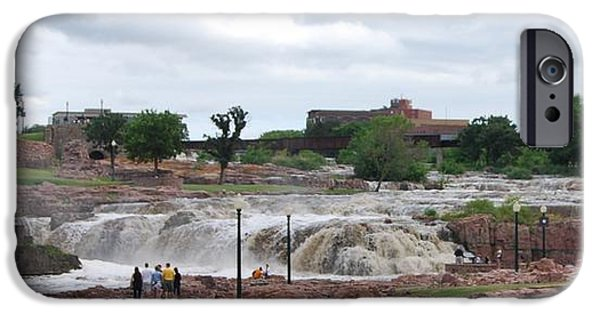 Recently Sold -  - Fury iPhone Cases - Mighty Sioux Falls iPhone Case by Judy Hall-Folde