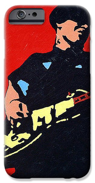 Mike Ness iPhone Case by Steven Sloan