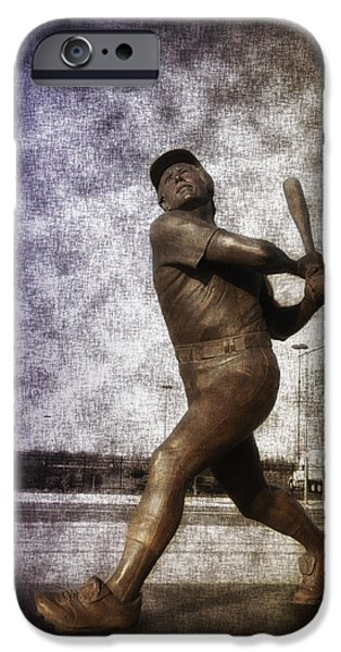 Mike Schmidt - Philadelphia Phillie iPhone Case by Bill Cannon