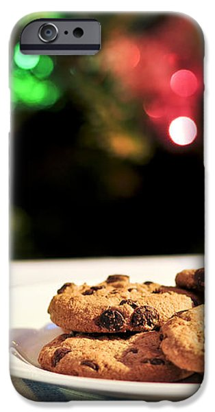 Milk and cookies for Santa iPhone Case by Elena Elisseeva