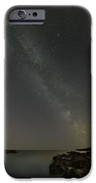 Constellations iPhone Cases - Milky Way iPhone Case by Andy Astbury