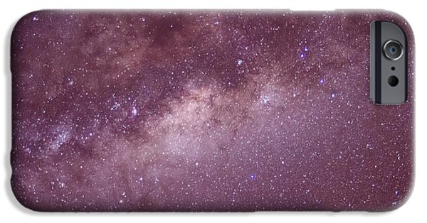 Constellations iPhone Cases - Milky way iPhone Case by Daniel Precht