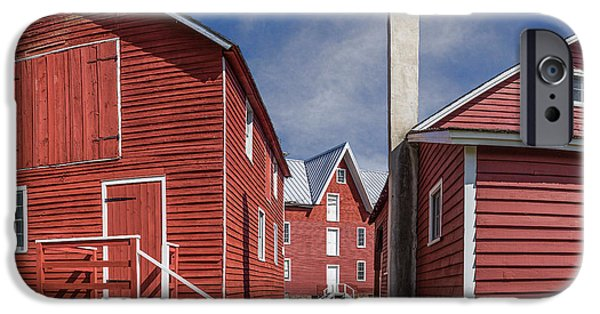 Grist Mill Mixed Media iPhone Cases - Millers Mill iPhone Case by Capt Gerry Hare