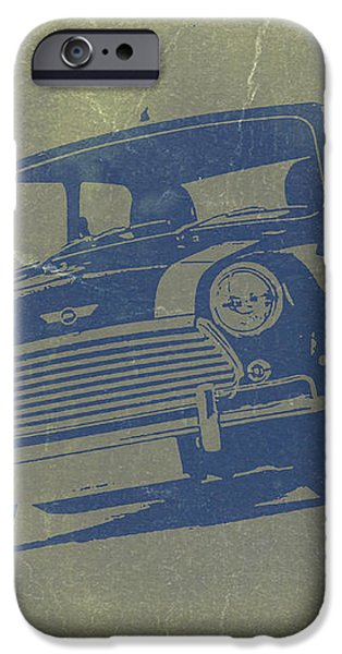 Mini Cooper iPhone Case by Naxart Studio