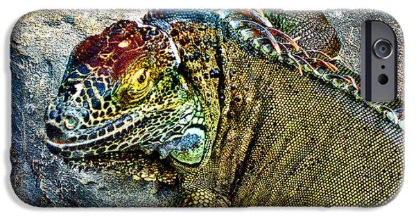 Serpent iPhone Cases - mini Godzilla. iPhone Case by Andy Za