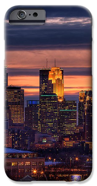 Minneapolis Skyline iPhone Case by Shawn Everhart