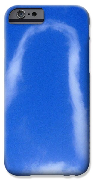 Miracle Photographs iPhone Cases - Miracle Cloud iPhone Case by David Lee Thompson