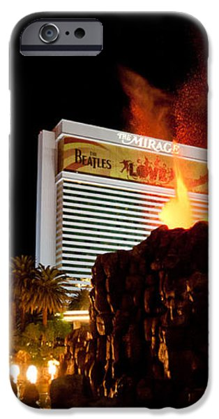 Mirage Volcano iPhone Case by Andy Smy