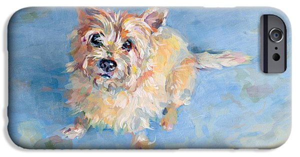 Dog Breed iPhone Cases - Miris Memory iPhone Case by Kimberly Santini